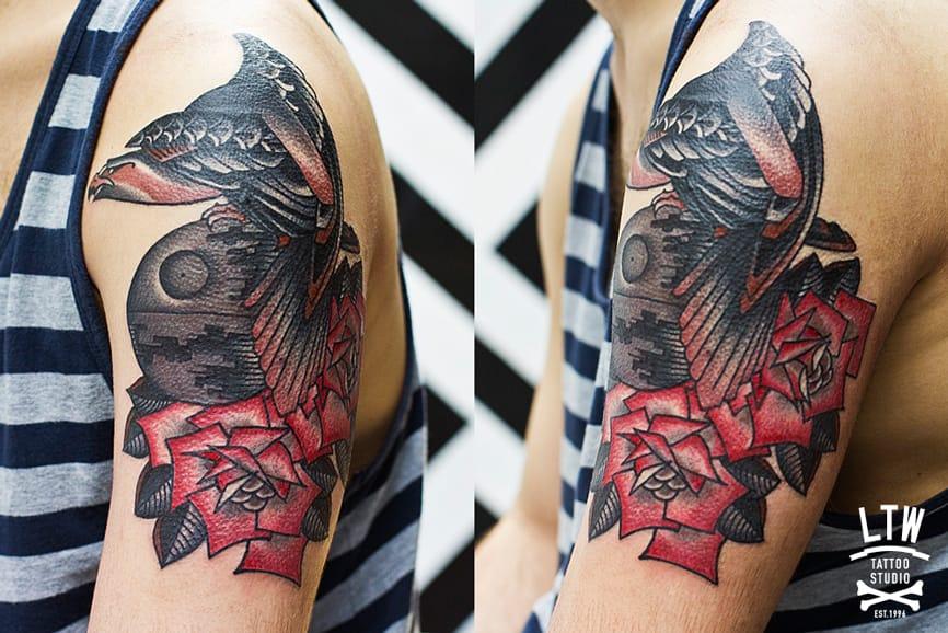 Tattoo by Rodrigo, LTW Tattoo Studio.