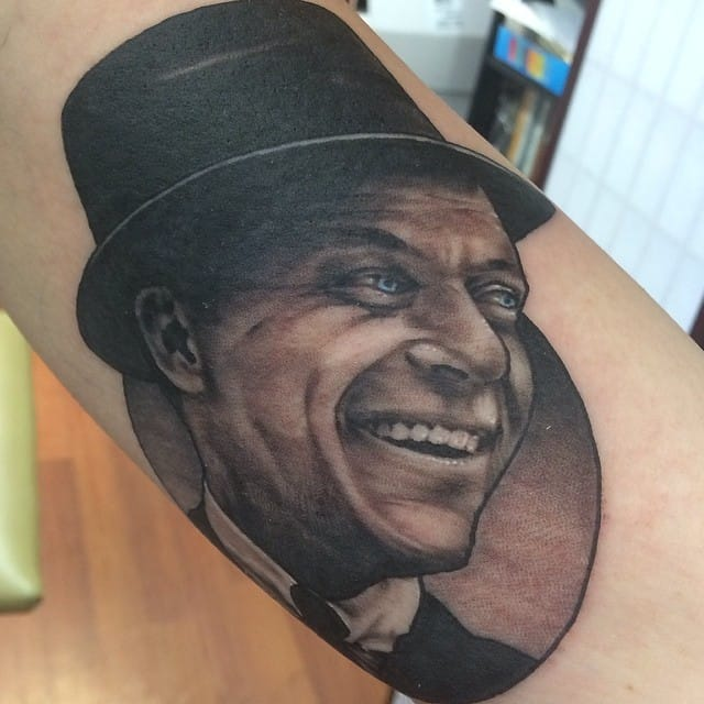 Frank Sinatra Tattoo by Rich Wren