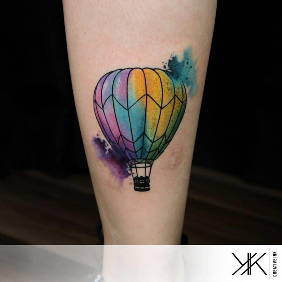 Balloon Tattoo by Koray Karagözler