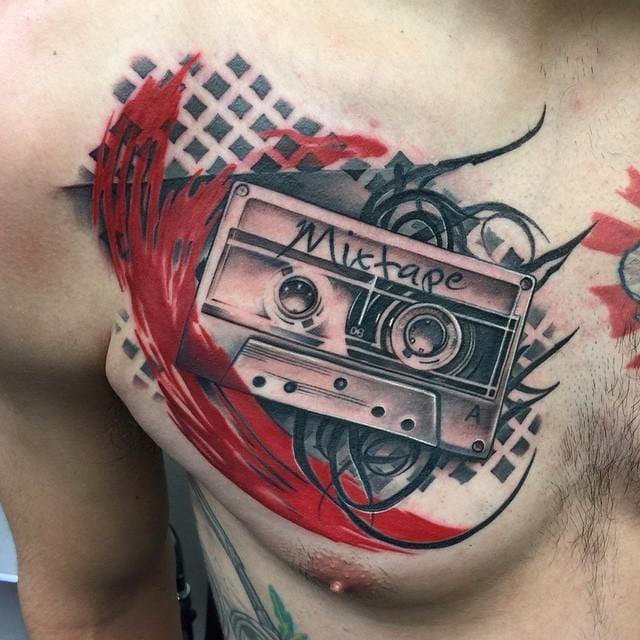 Tattoo by David Mushaney