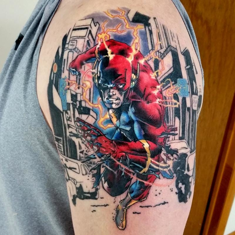 Flash Tattoo by Mark Durhan