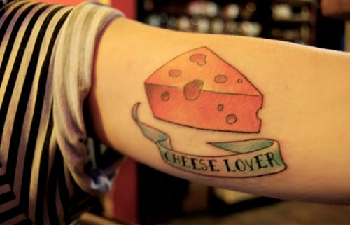 16 Cheesy Tattoos For Dairy Lovers