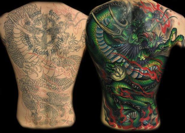 15 Badass Cover Up Tattoos