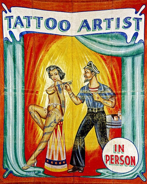 The Art Of Tattooed Performers From Vintage Freaks To Suspension Art