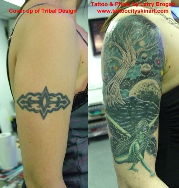 amazing cover up by Larry Brogan