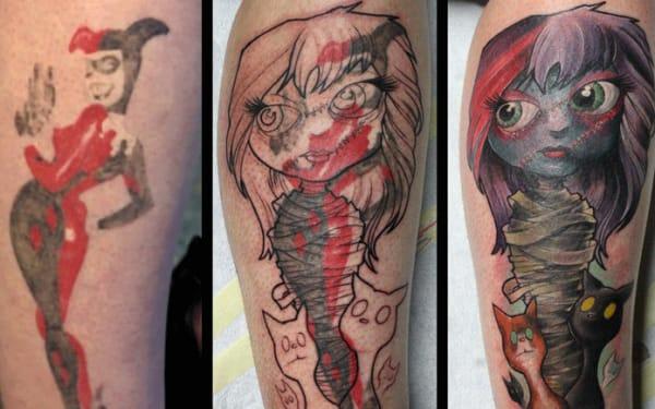 Tattoo by Tim Pangburn.