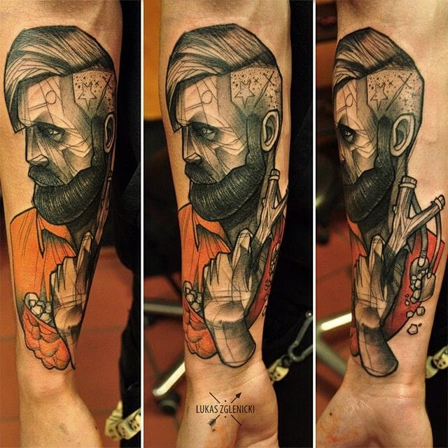 Wonder how Lukas Zgelnicki tattoos. Would love to visit him in Poland in the future!