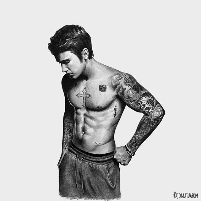 Justin Bieber by Jo Matuazon (@jomatuazon)