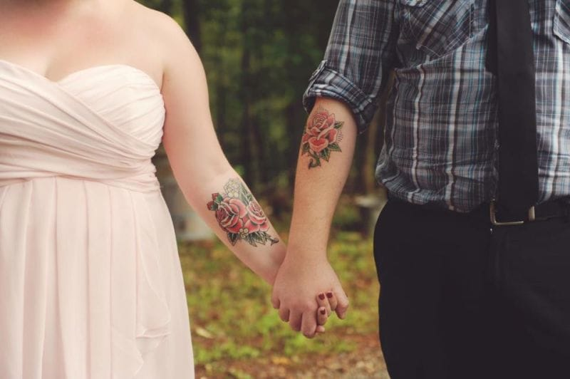 20 Lasting Wedding Tattoo Ideas For Couples