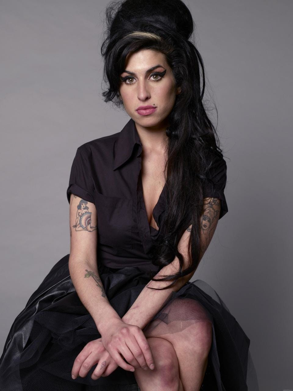 Amy Winehouse, the one and only.