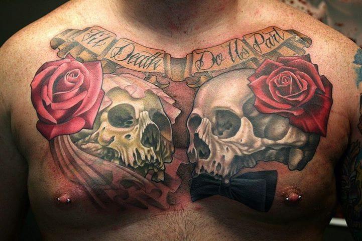 12 Sweet & Lasting Til Death Do Us Part Tattoos