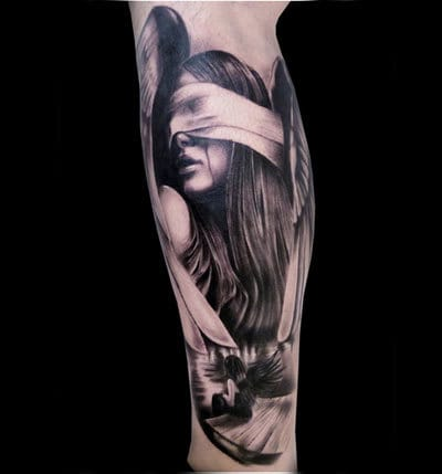 Tattoo Artist unknown, please let us know if you do!