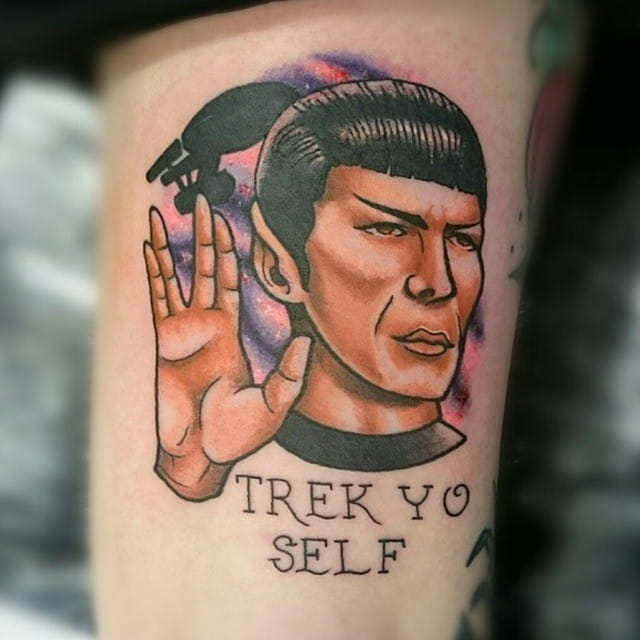 Live Long And Prosper With These Awesome Star Trek Tattoos!