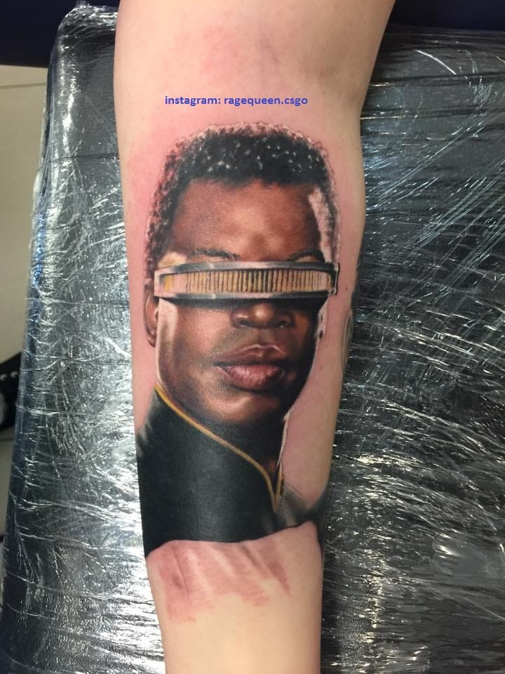 Geordi La Forge Tattoo by Samisox