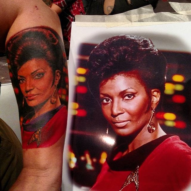 Uhura Tattoo by Samantha Christina