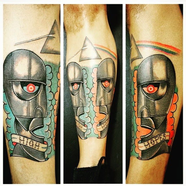 25 Pink Floyd Tattoos That Got Us Seeing The Dark Side Of The Moon