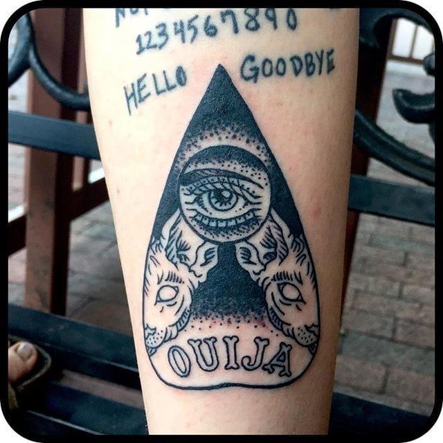 Planchette Tattoo by Joe Dakin
