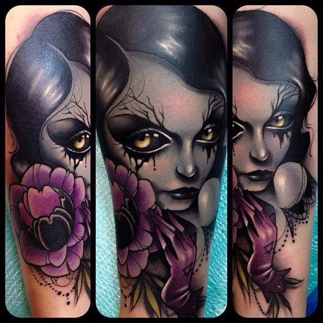 The Spooky Pop Surrealist Tattoos Of Kelly Doty