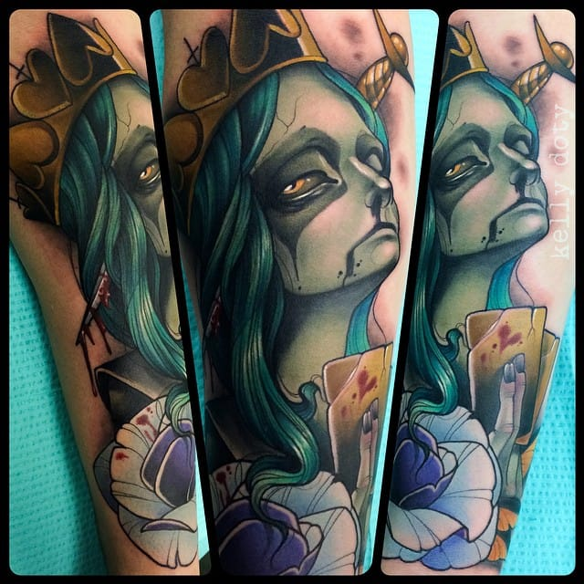 King of Hearts tattoo