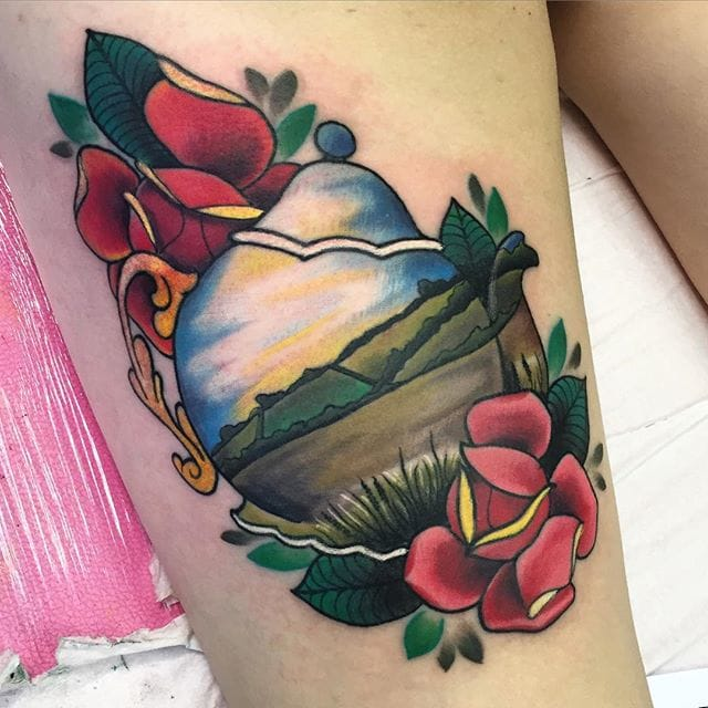 Tattoo by Hollie West