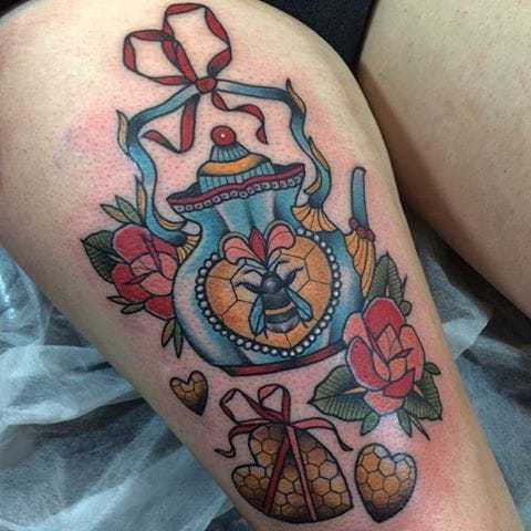 Tattoo by Jody Dawber