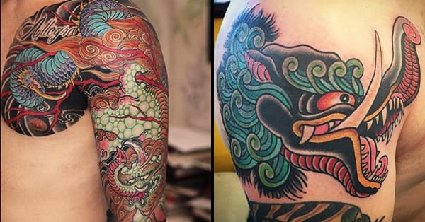 16 Brazen Japanese Baku Tattoos