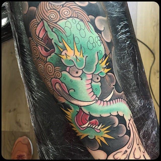 Tattoo by Rick Scholten