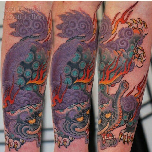 Tattoo by Ron Koupal