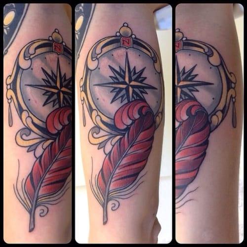 Tattoo by Christophe Bonardi