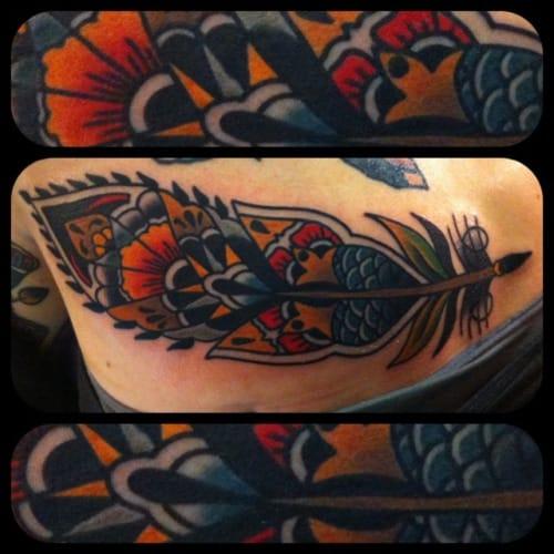 Tattoo by Shamus Mahannah