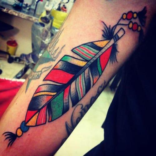 Tattoo by Vinz Flag