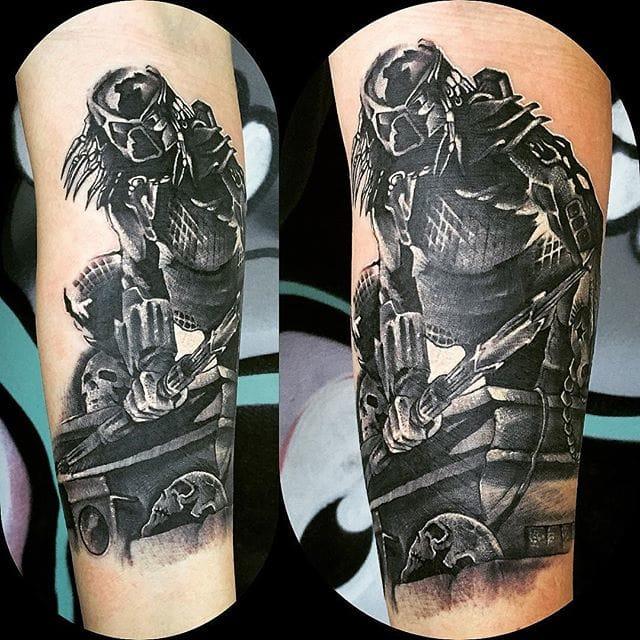 Tattoo by Andrea Pinna