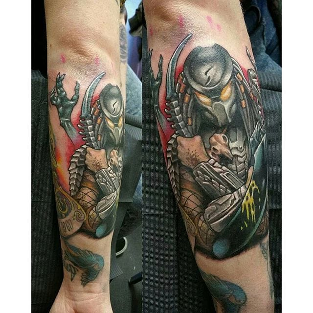 Tattoo by Simon K Bell