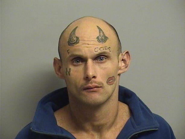 "This Man Finds Out The Worst Time To Have A ""F*ck Cops"" Face Tattoo"
