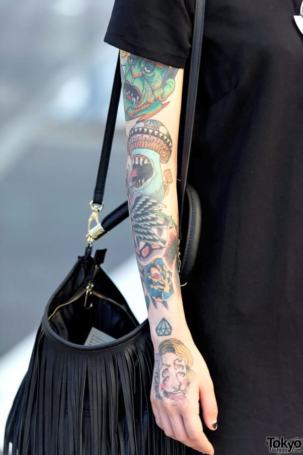 Tokyo Fashion Captures Tattooed Individuals On The Street