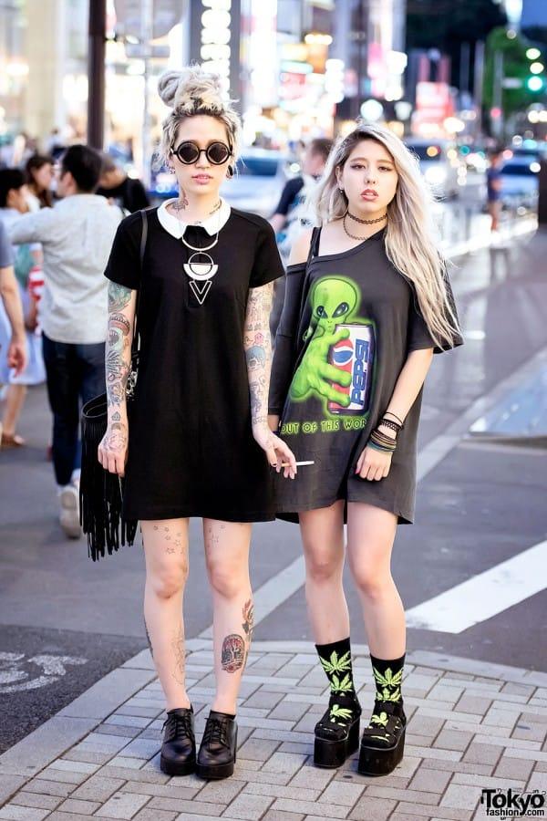 Akane and Christina/Courtesy of Tokyo Fashion