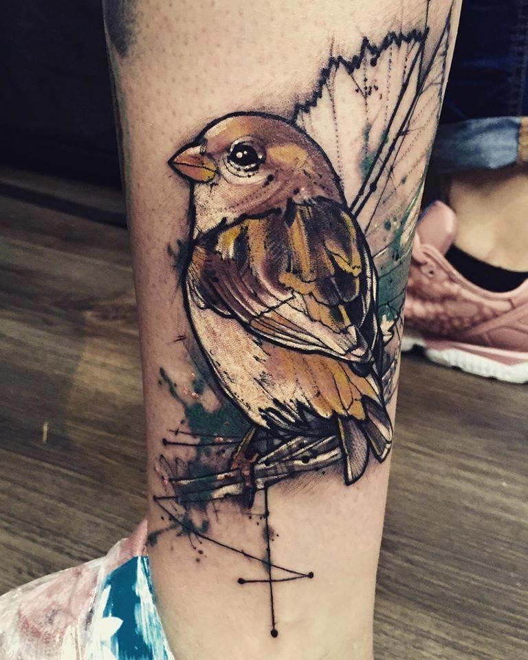 Creative tattoo by Bob Mosquito.