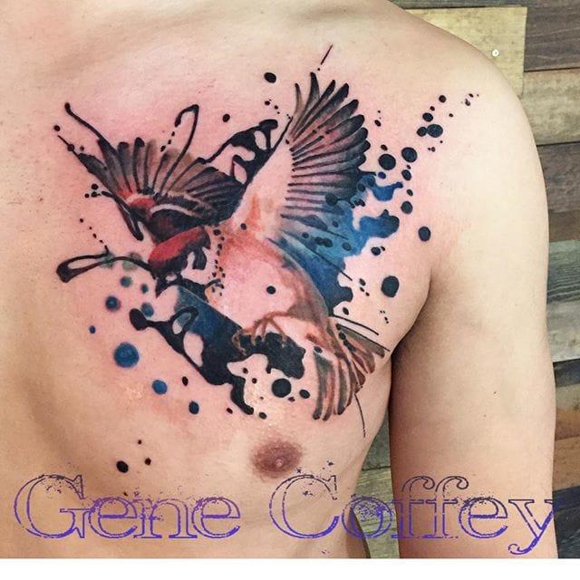 Creative art by Gene Coffey.