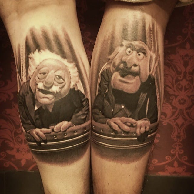 Fun matching tattoos!