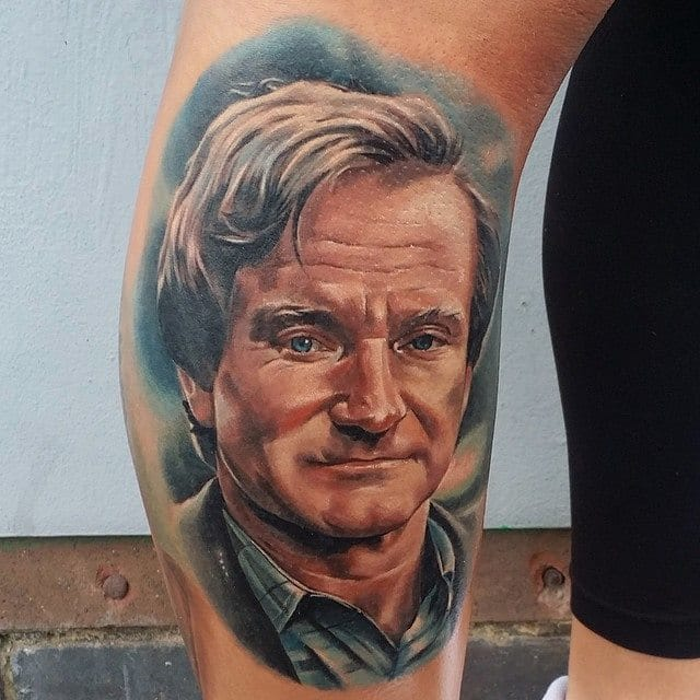 22 Robin Williams Inspired Tattoos