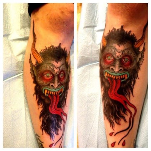 Demon Tattoo by Ron Henry Wells