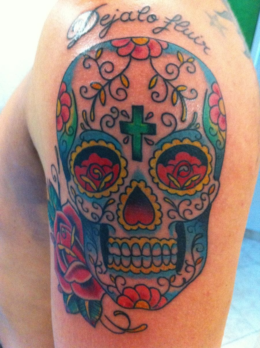 Deviant Art #sugarskull #skull