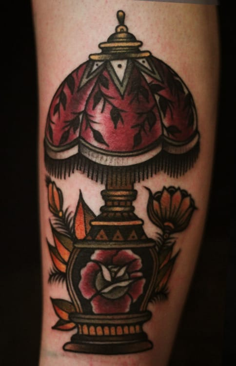 Lamp Tattoo by Ibi Rothe