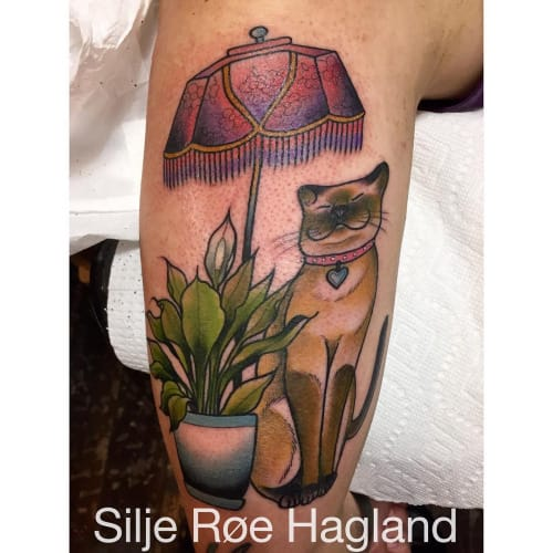 Lamp Tattoo by Silje Roe Hagland