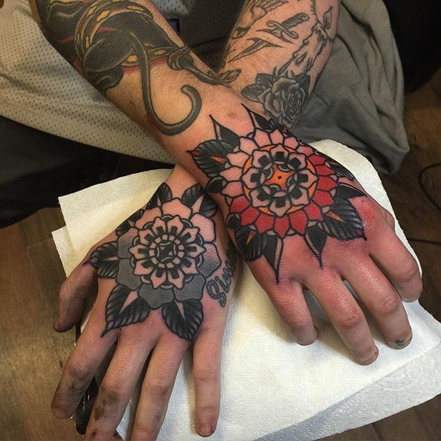 Phenomenal Hand Tattoos By Tom Flanagan!