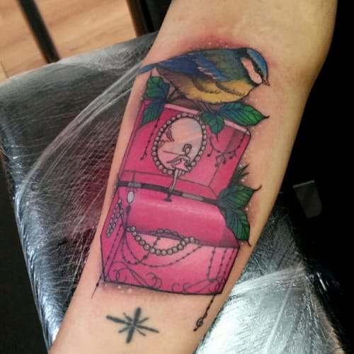 Music Box Tattoo by Sophie Adamson