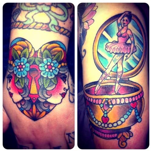 Tattoo by Marija Ripley
