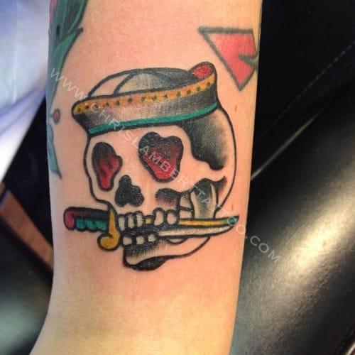 Tattoo by Chris Lambert