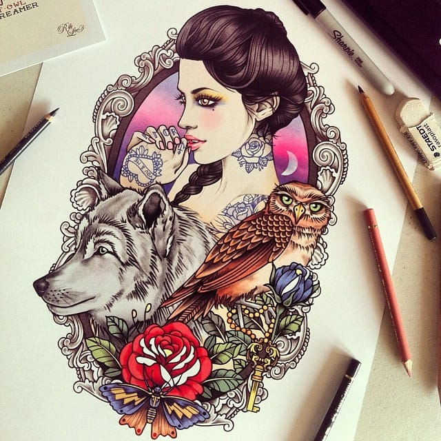 illustration by Rik Lee (@rikleeillustration)