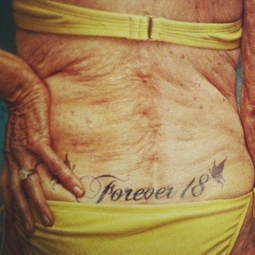 Forever young is a state of mind.